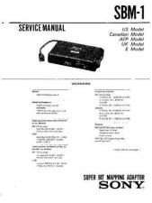 Buy Sony SB-V55A Service Information by download Mauritron #238026