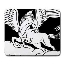Buy Pegasus Mythical Horse Art Computer Mouse Pad