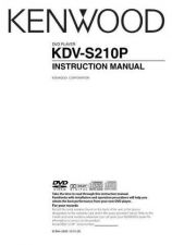 Buy Kenwood KDV-S230P Operating Guide by download Mauritron #219177