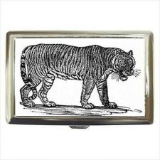 Buy Tiger Art Cigarette Money Credit Business Card Case Wallet