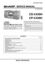 Buy Sharp CDC430H-CPC430H Service Manual by download Mauritron #208501