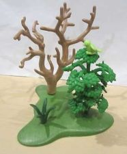 Buy 10 Piece Playmobil LOT Green Base, Branches, Tree, Bird MINT