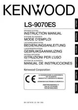 Buy Kenwood LS-907ES Operating Guide by download Mauritron #219655