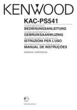 Buy Kenwood KAC-PS541 by download Mauritron #221397