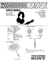 Buy Sony MDR-CD333 Service Manual by download Mauritron #232182