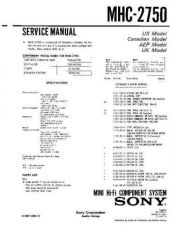 Buy Sony MHC-2900-E60X Service Manual. by download Mauritron #242805
