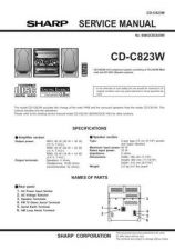 Buy Sharp CD-C831W Service Manual by download Mauritron #231134
