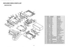 Buy exploded view parts list[fl-r888k Service Information by download #111259