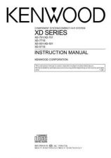 Buy Kenwood XD-750 Operating Guide by download Mauritron #219947