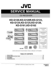 Buy JVC KD-G124 by download Mauritron #271303