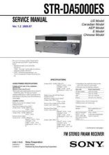 Buy Sony STR-DA7100ES Manual by download Mauritron #229856