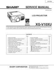 Buy Sharp. XG-XVXX_SM_SUPPLEMENT_GB-DE-JP Manual by download Mauritron #212062