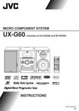 Buy JVC UX-G60-3 Service Manual by download Mauritron #273697