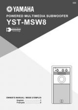 Buy Yamaha YST-MSW8 Operating Guide by download Mauritron #250410
