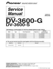Buy Pioneer dv-360-k-5 Service Manual by download Mauritron #234187