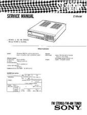Buy Sony ST-A790 Service Manual. by download Mauritron #244971
