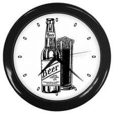 Buy Beer Bottle Art Bar Restaurant Kitchen Wall Clock
