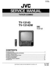 Buy JVC TV-13143 Service Manual Schematic Circuit. by download Mauritron #272690