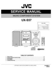 Buy JVC UX-S57 Service Manual Schematic Circuit. by download Mauritron #272933