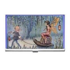 Buy Fairy Pixie Riding Snail Art Business Credit Card Holder