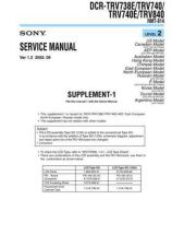 Buy Sony D-EJ985 Service Manual by download Mauritron #240021