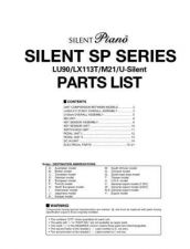 Buy Yamaha SILENT SP SERIES PL E Information Manual by download Mauritron #259657
