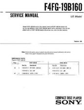 Buy Sony F5XF-19B160 Service Manual by download Mauritron #240708