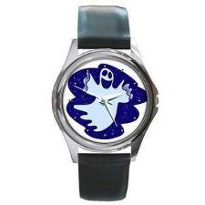 Buy Spooky Ghost Halloween Round Unisex New Wrist Watch