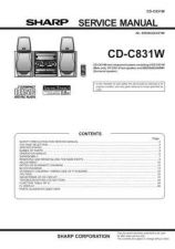 Buy Sharp CDCH1500H Service Manual by download Mauritron #231135