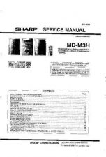 Buy Sharp MDM3H Service Manual by download Mauritron #210001
