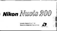 Buy NIKON Nuvis 200 Instruction Manual by download Mauritron #266158