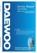 Buy Daewoo. WF5510SE02. Manual by download Mauritron #214041