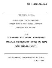 Buy MILLVAC MV-828A by download #108871