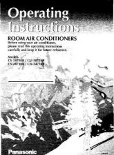Buy Panasonic CS1873 2473 Operating Instruction Book by download Mauritron #23596