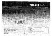 Buy Yamaha REV5E 1 Operating Guide by download Mauritron #249597