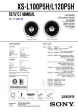 Buy Sony XS-L100P5HL120P5H Service Manual. by download Mauritron #246379