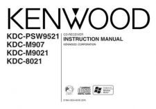 Buy Kenwood KDC-M9021 by download Mauritron #221988