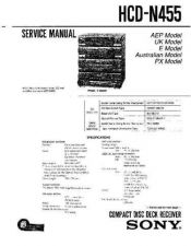 Buy Sony HCD-N355K Manual by download Mauritron #229245