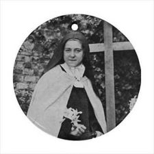 Buy St Therese Patron Saint Photo Ceramic Ornament