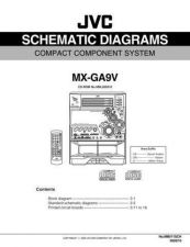 Buy JVC MX-GA9Vsch Service Manual Schematic Circuit. by download Mauritron #271939