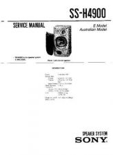 Buy Sony SS-H2600 Service Manual. by download Mauritron #244808