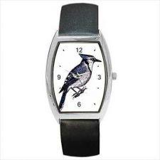Buy Blue Jay Bird Art Unisex Wrist Watch New