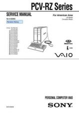 Buy Sony PCV-RX9 SERIES Service Manual. by download Mauritron #243478