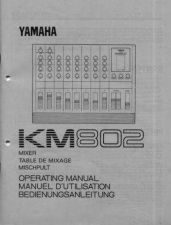 Buy Yamaha KM802F Operating Guide by download Mauritron #248263