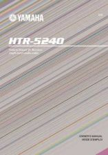 Buy Yamaha HTR-5240 Operating Guide by download Mauritron #248133