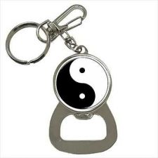 Buy Yin Yang Symbol Art Keychain Bottle Opener