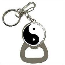 Buy Yin Yang Symbol Art Keychain Bottle Opener