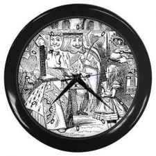 Buy Queen Of Hearts Alice In Wonderland Wall Clock