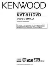 Buy Kenwood KVT-911DVD Operating Guide by download Mauritron #219621
