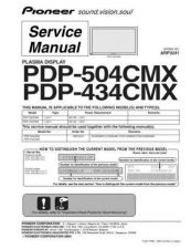 Buy Pioneer PDP-436SXE-YVIXK51[2] (3) Service Manual by download Mauritron #235115